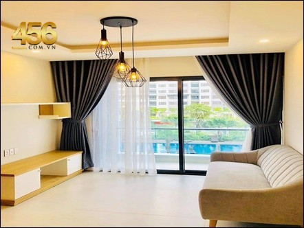New City Thu Thiem apartment 2 bedrooms pool view for rent