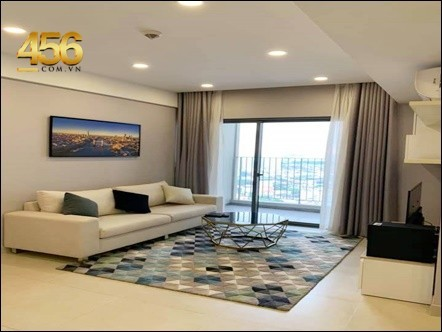 1 Bedrooms Masteri Thao Dien Apartment for rent Big Balcony Landmark View
